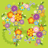 Spring flower illustration Stock Image