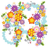 Spring flower illustration Stock Images