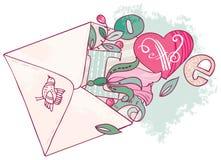 Spring Flower letter Royalty Free Stock Photo