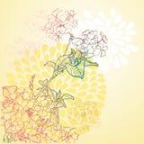 Spring flower pattern Royalty Free Stock Image