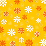 Spring flower pattern Stock Photos