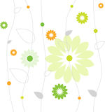 Spring flower pattern royalty free stock image