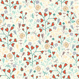 Spring flower pattern Stock Photography