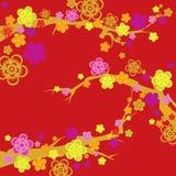 Spring flower seamless pattern Stock Image