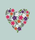 Spring flower valentine Stock Photos