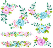 Spring Flower Vector Set vector illustration