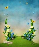 Spring flowers. stock illustration