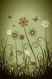 Spring flowers. Abstract flower background Royalty Free Stock Images