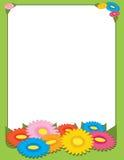 Spring Flowers Border Royalty Free Stock Photo