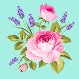 Spring flowers bouquet. Stock Image