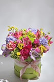 Spring flowers bouquet Stock Photos