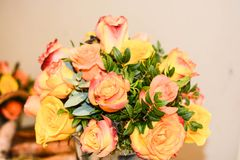 Bouquet of spring flowers for symbol. Spring flowers bouquet for emotions royalty free stock photography