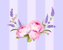 Spring flowers bouquet. Royalty Free Stock Photography