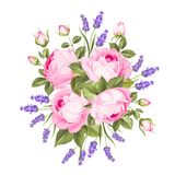 Spring flowers bouquet. stock illustration