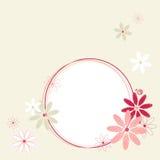 Spring flowers frame. Stock Image