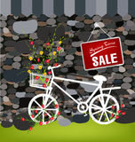 Spring and Flowers sale Royalty Free Stock Photos