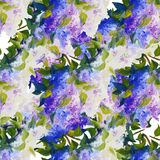 Spring flowers seamless pattern Royalty Free Stock Photo