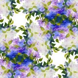 Spring flowers seamless pattern Stock Photography