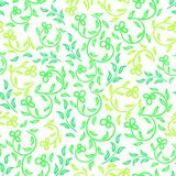 Spring flowers seamless pattern Royalty Free Stock Image