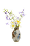 Spring flowers in a vase Royalty Free Stock Image