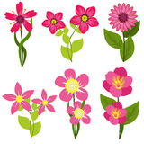 Spring Flowers Vector illustration Royalty Free Stock Photo