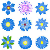 Spring Flowers Vector illustration Royalty Free Stock Photos