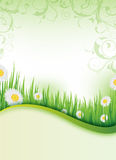 Spring flyer design Royalty Free Stock Image