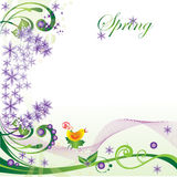 Spring_form Royalty Free Stock Image