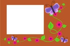 Spring frame Stock Image