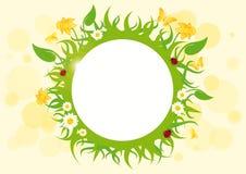 Spring frame vector Stock Photo