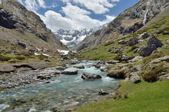 Free Spring From The Mountain Cirque D Estaube Royalty Free Stock Images - 61738839