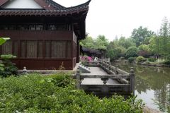 Spring Garden-Classical Gardens of Suzhou. Suzhou classical gardens, known as Suzhou gardens, are world cultural heritage, national AAAAA level tourist stock photography