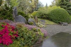 Spring garden design Stock Image