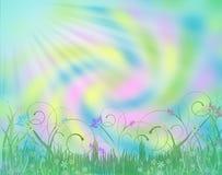 Spring Garden Pastels Background Royalty Free Stock Image