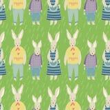 Spring Garden seamless  pattern Royalty Free Stock Photo