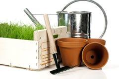 Spring gardening Royalty Free Stock Images
