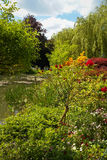 Spring gardens of Giverny, France Stock Photography