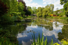 Spring gardens of Giverny, France Royalty Free Stock Photography