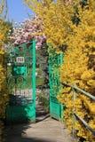 Spring gate Royalty Free Stock Image