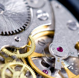 Spring and gears Royalty Free Stock Photo