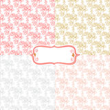 Spring gentle pattern Stock Images