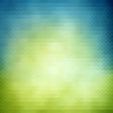 Spring geometric  background Stock Images