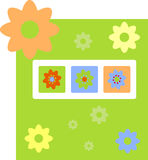 Spring getting card Royalty Free Stock Image