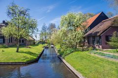 Spring in Giethoorn, the Netherlands Royalty Free Stock Photography