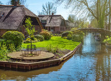 Spring in Giethoorn, the Netherlands Stock Photos