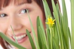 Spring girl Stock Image