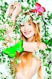 Spring girl royalty free stock photo