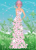 Spring girl. Stock Images