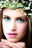 Spring girl Royalty Free Stock Photo