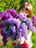 Spring girl Royalty Free Stock Image